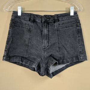 PacSun Destressed Black 70's Short Sz 29